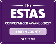 Conveyancer Awards 2017 - Best in Country Norfolk